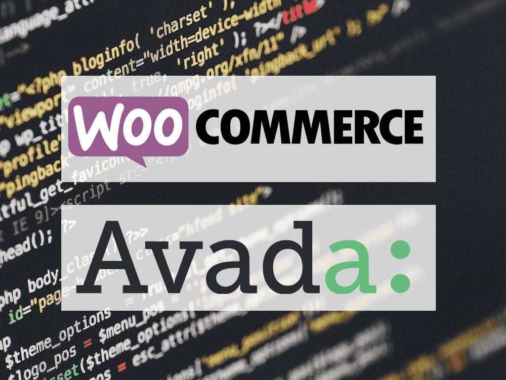 WooCommerce & Avada